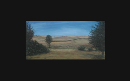 Oil Painting  -  South African Farm
